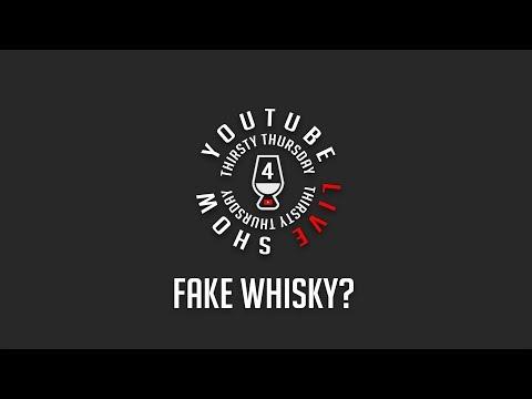 Thirsty Thursday: Fake Whisky Plus Dr Scotch!