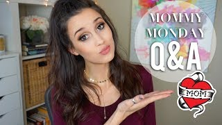 Mommy Monday Q&A - Scared of Labor, Separation Anxiety