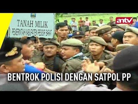 Bentrok Polisi Dengan Satpol PP
