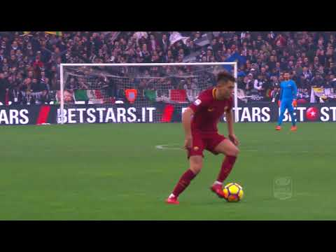Il gol di Under - Udinese - Roma 0-2 - Giornata 25 - Serie A TIM 2017/18