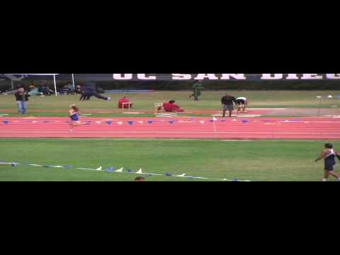 Women 800 meter Run Section 3 Triton Invitational 2013