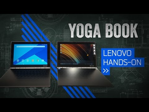 The Lenovo Yoga Book Is Too Cool For A Keyboard