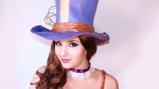 League of Legends Caitlyn Makeup