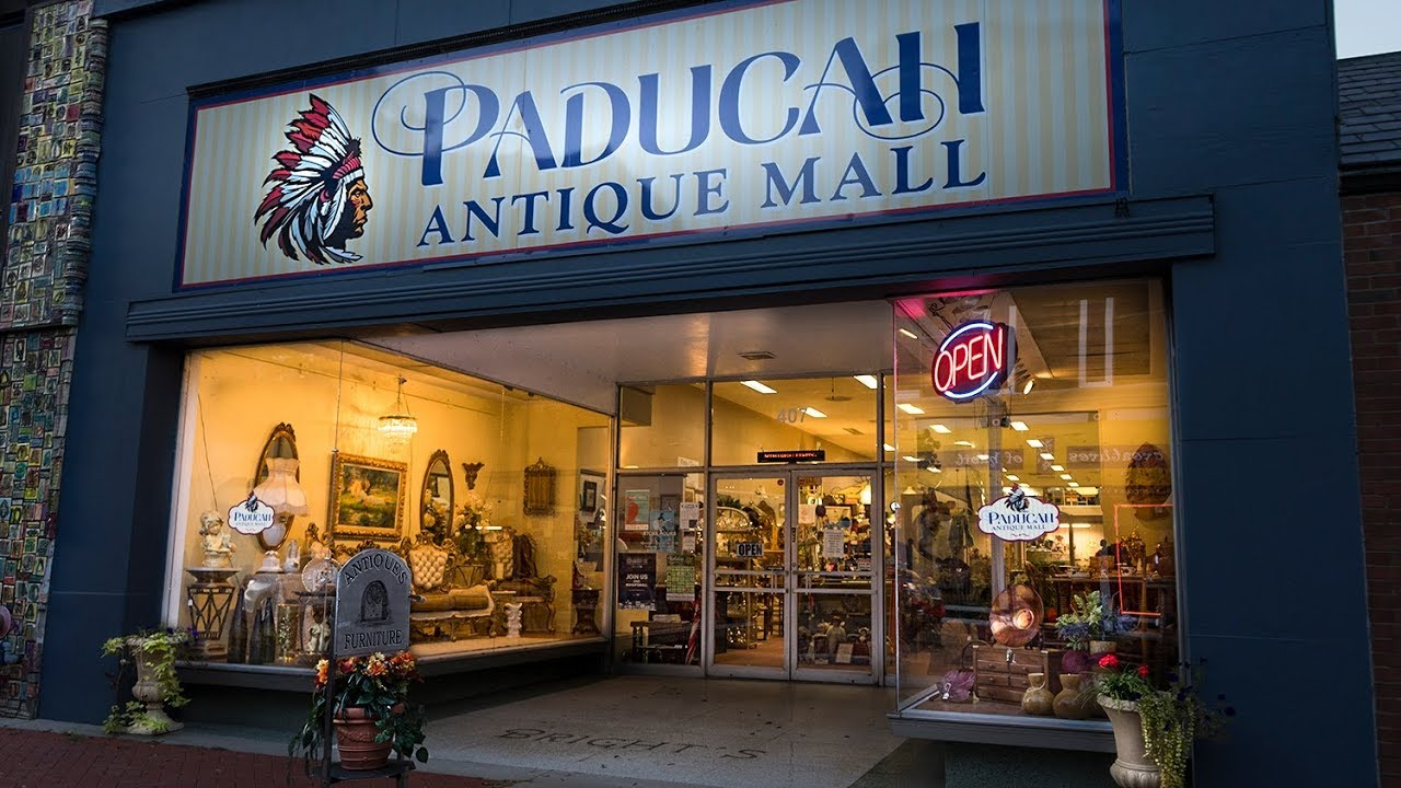 antique stores in kentucky Paducah Antique Mall Broadway   YouTube antique stores in kentucky