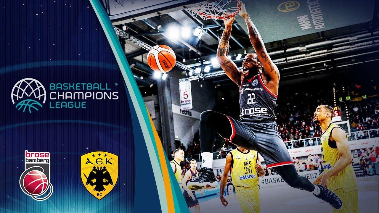 Brose Bamberg v AEK - Full Game - Quarter-Final - Basketball Champions League 2018