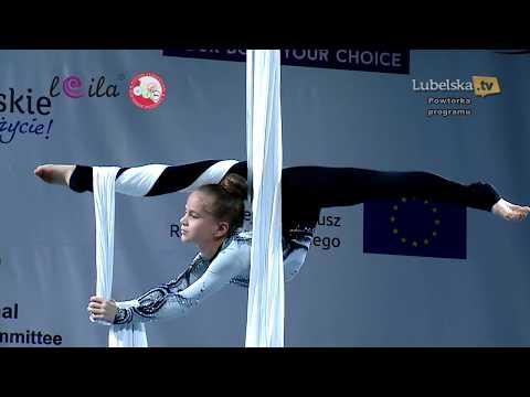 ЛЮБЛИН 2017. Воздушная гимнастика на полотнах. Vardosanidze Alisa