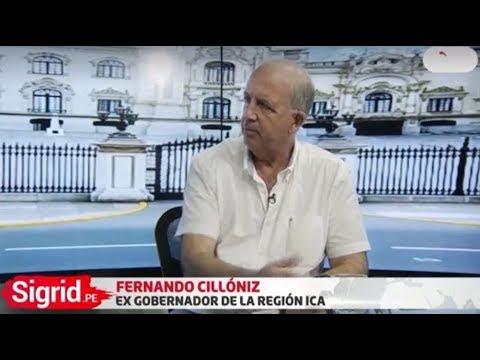 Entrevista a Fernando Cillóniz en Sigrid.PE con Sigrid Bazán