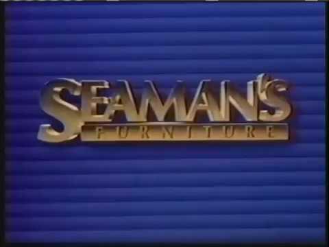 Seaman 39 s furniture ad 1985 youtube for Seamans furniture