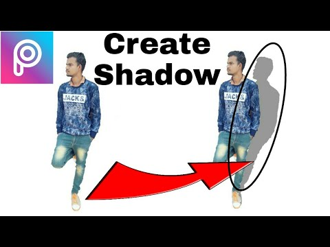 Picsart Tutorial   Create A Shadow   picsart Me Photo Ki Parchai Kese Banaye 