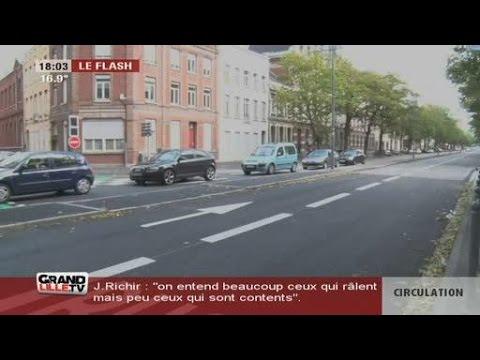 Circulation Autour De Lille : pol mique autour du plan de circulation de lille youtube ~ Medecine-chirurgie-esthetiques.com Avis de Voitures