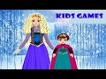 Free Kids Game Download Christmas Game - Games for Girls - Hairstyle Elsa and her Mother