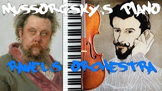 Pictures Intro: Mussorgsky's Piano/Ravel's Orchestra