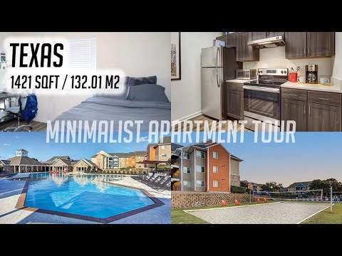 MY 2020 MINIMALIST APARTMENT TOUR | OUTPOST @ UTSA from YouTube · Duration:  6 minutes 46 seconds
