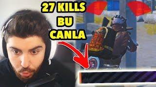 0.1 CANLA EKİPLERE KARŞI! (one man squad) PUBG Mobile