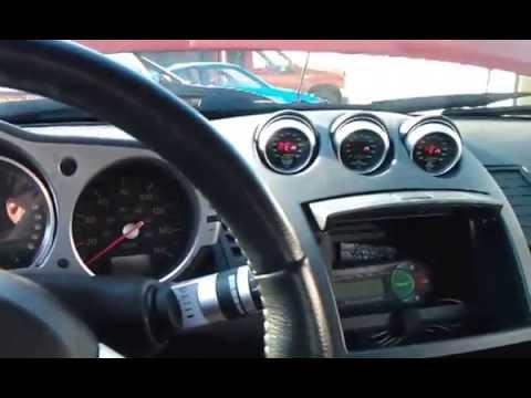 Nissan 350Z after LS3 Conversion