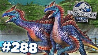MAX SEGNOSUCHUS! - STRONGEST HERBIVORE HYBRID!!!    Jurassic World - The Game - Ep288 HD