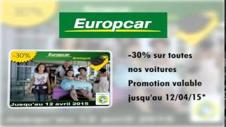 Location voitures pas cher - Europcar Vannes gare