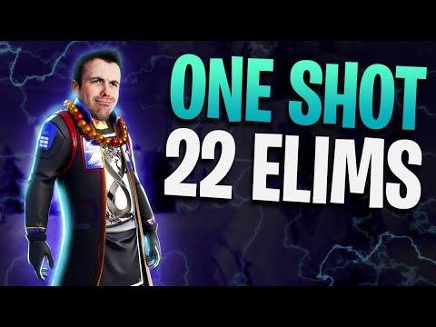 Fortnite - One Shot 22 Elims! - Sniper Only LTM | DrLupo