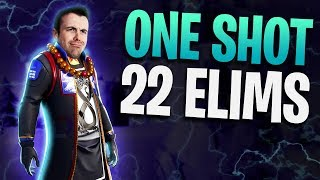 Fortnite - One Shot 22 Elims! - Sniper Only LTM | DrLupo