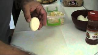 салат с яиц и лука.( мамин салат).