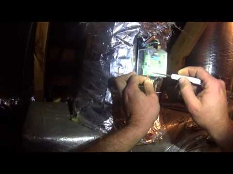 HVAC Service: Replacing A Zone Damper Motor - YouTube