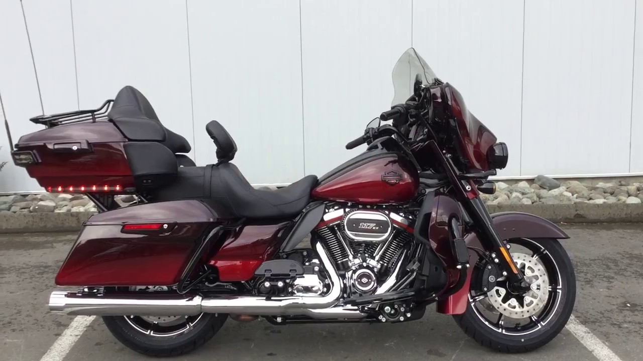 Black Cherry Harley Davidson For Sale