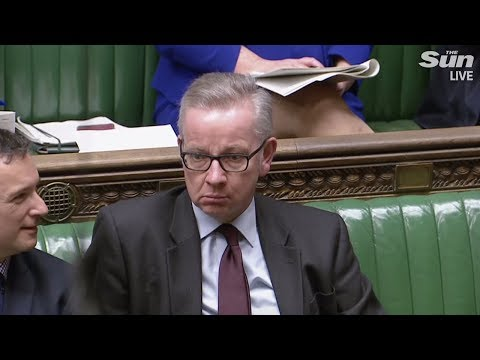Gove and Corbyn swap insults as Brexit clock ticks on