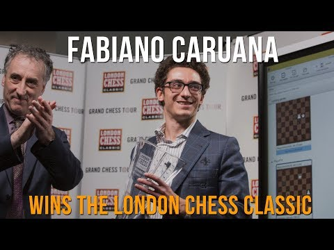 Fabiano Caruana Discusses Winning The London Chess Classic