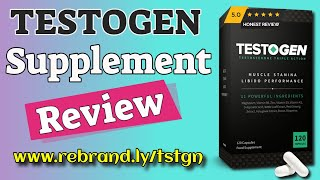 Testogen Review - Is Testogen Testosterone Booster Still Numbe…