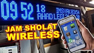 Download Video Jam Sholat Otomatis Wireless Android MP3 3GP MP4