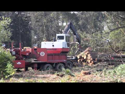 Logging HD - Knuckle boom loader and chipper