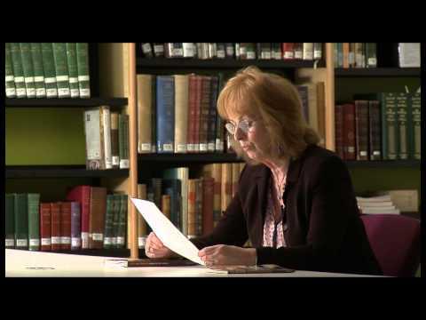 """Rita Ann Higgins reads her poem """"She's Easy"""""""