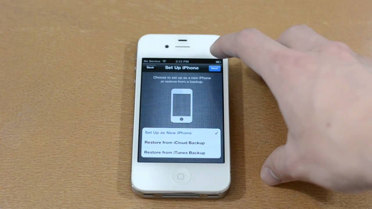 set up iphone how to set up and activate an iphone 4s 12954