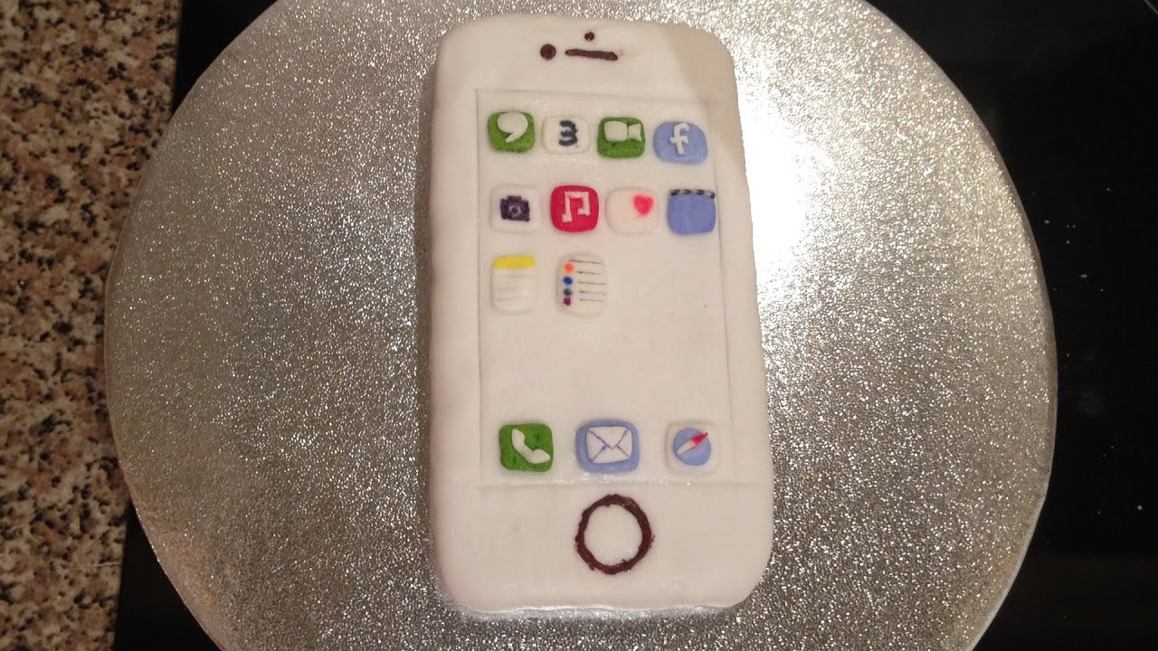 How To Make An Iphone 6 Cake by BluePearl YouTube