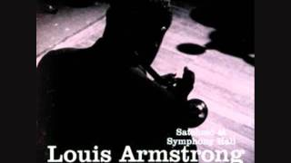 Louis Armstrong and the All Stars 1947 On the Sunny Side of the street (Live)