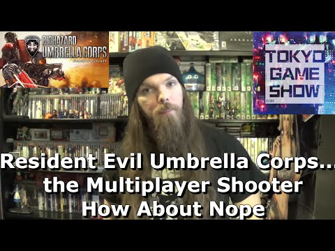 Resident Evil Umbrella Corps....the Multiplayer Shooter. How About Nope