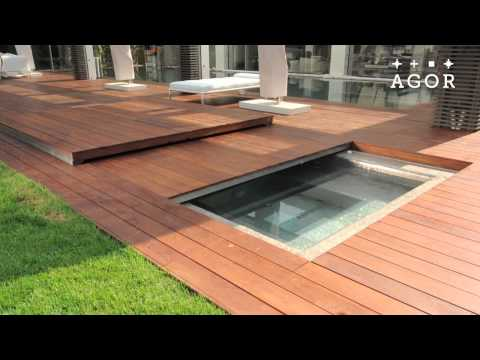 Youtube - Covering a swimming pool with decking ...
