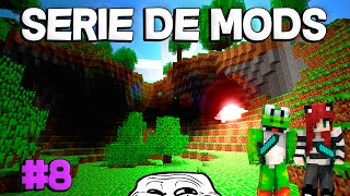 NO SALDREMOS VIVOS DE ESTA | Minecraft Serie Mods 2 Ep.8