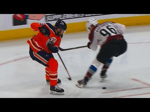 Oilers' Draisaitl undresses Avalanche team with incredible solo effort