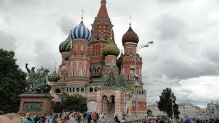 Cerkiew Wasyla Błogosławionego w Moskwie , 23 VII 2013 r