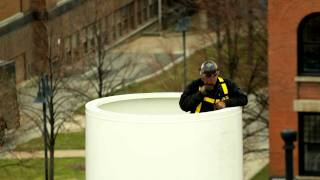 Wind Turbine Time Lapse Installation at Case Western Reserve University
