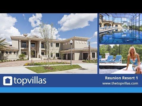 Reunion Resort 1 - Luxury Vacation Mansion Near Disney