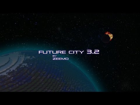 Minecraft | Future CITY 3.2 The Asteroid
