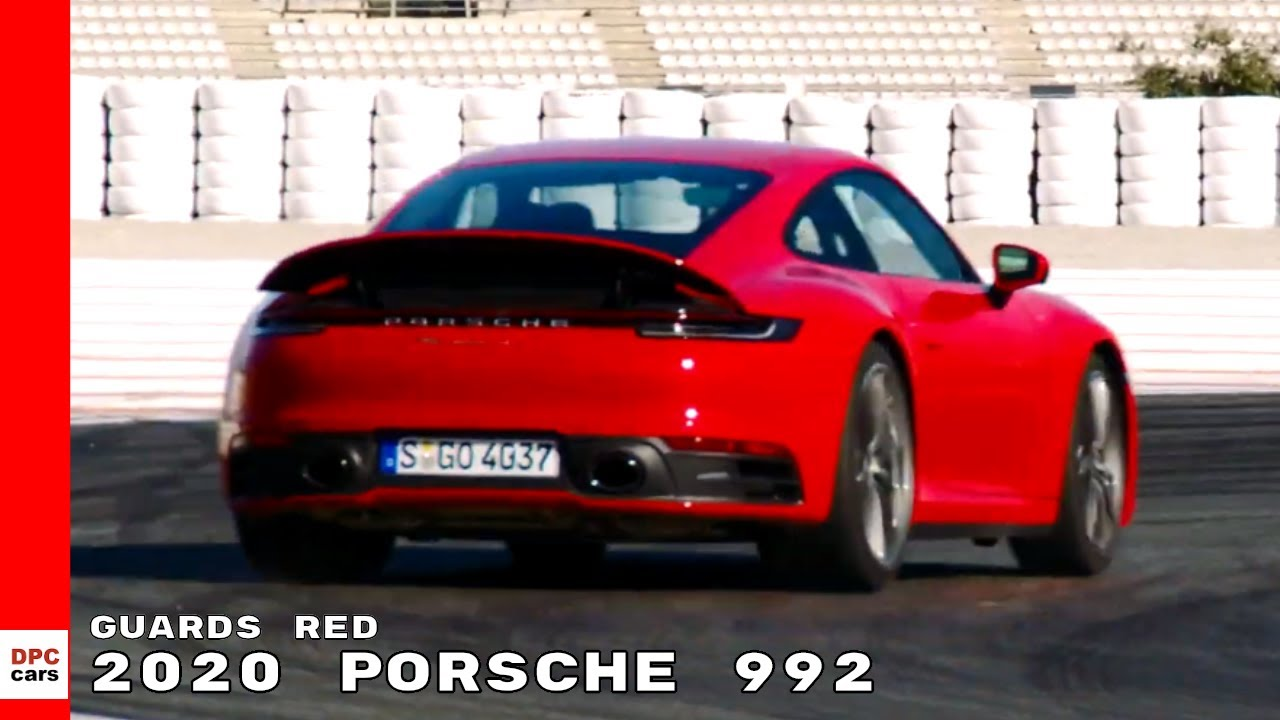 2020 Porsche 992 911 Carrera 4S Guards Red