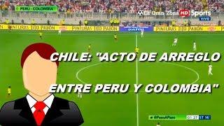 [ULTIMA HORA] LA FIFA ACOGIÓ EL RECLAMO DE CHILE POR PARTIDO DE PERU VS COLOMBIA