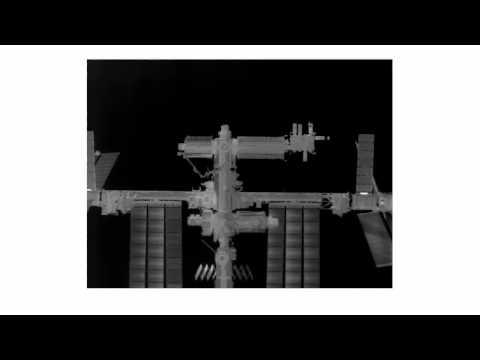 STS-135 Rendezvous & Docking: TriDAR Thermal IR