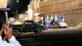 On The Set of Gangster Squad Starring Ryan Gosling, Emma Stone and Directed By Ruben Fleischer