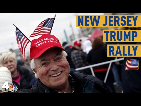 New Jersey Trump Rally: Thousands Turn Out To See President | NBC New York