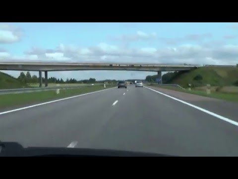 [Lithuania] A1 Klaipėda - Vilnius HD (part 1)