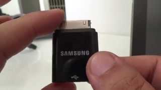 갤럭시탭 10.1에서 USB를 사용으로 메모리카드 인식…
